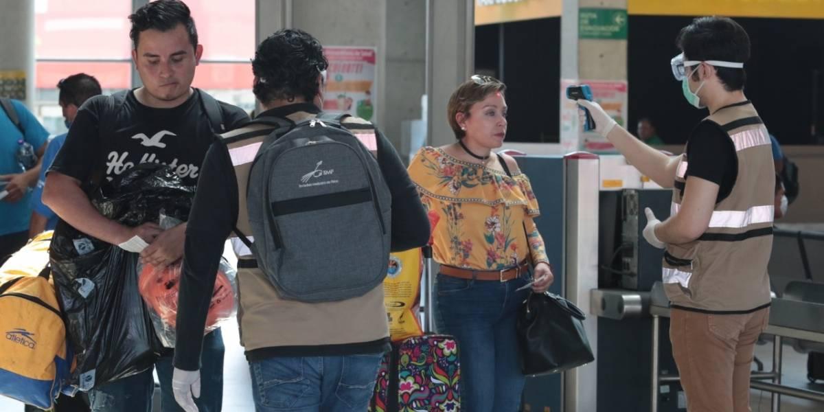 Endurecen reglas sanitarias en Central de Autobuses