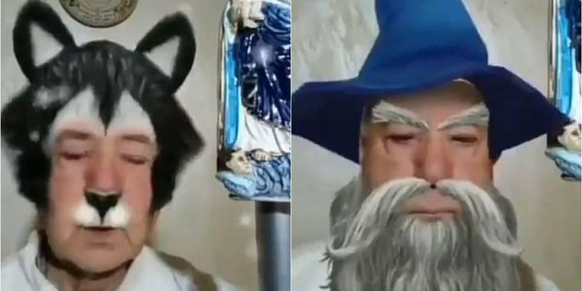 Padre italiano transmite missa com filtros no rosto e acha que está sendo alvo de trollagem