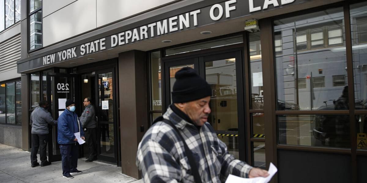 El desempleo se dispara en Estados Unidos debido al coronavirus