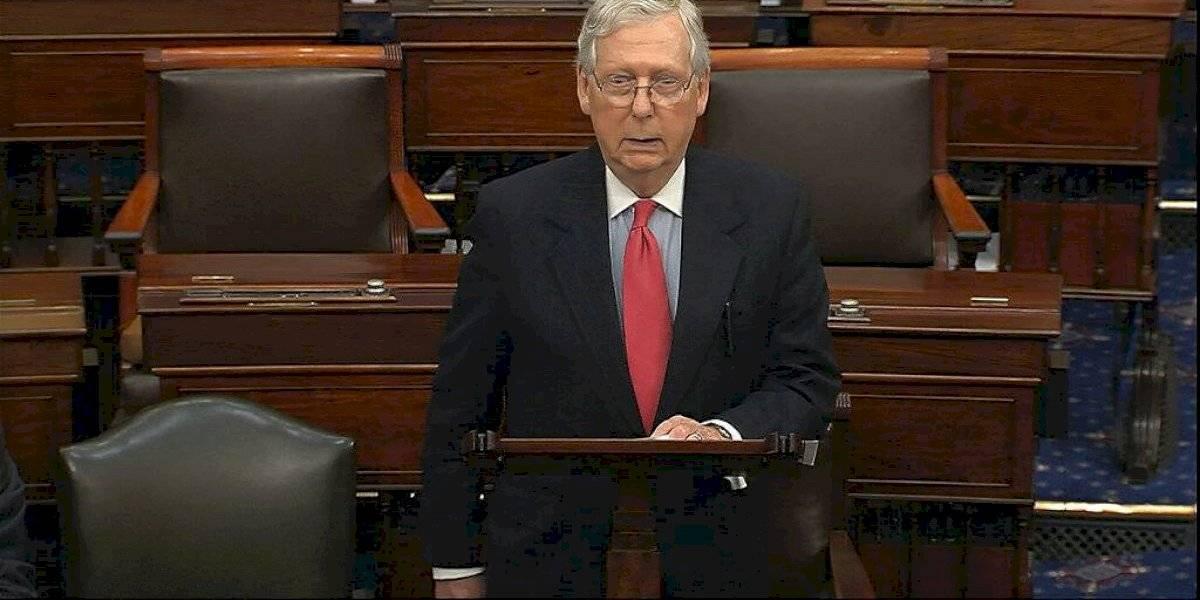 Senado de EE. UU. aprueba paquete de rescate por coronavirus