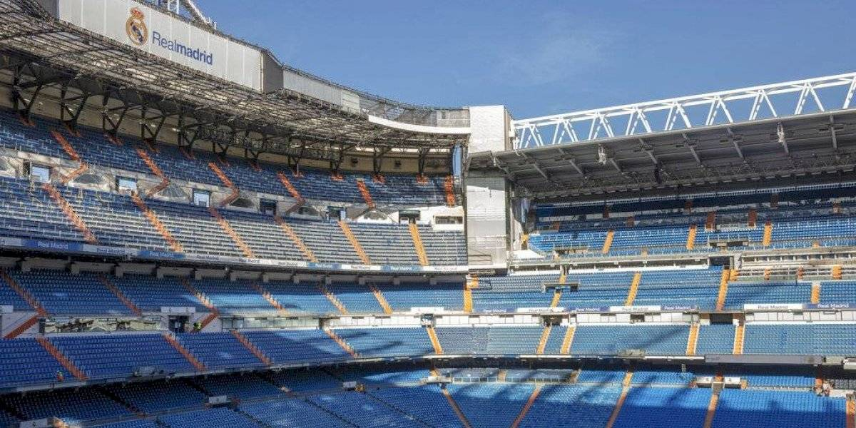 Real Madrid cede estadio para almacenar material sanitario