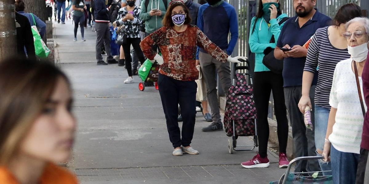 Chile es el quinto país con más nuevos contagiados en el mundo y el 9º en muertes por Coronavirus