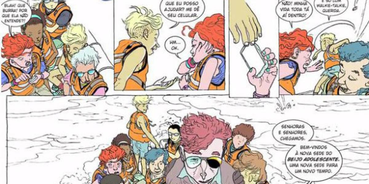 O Beijo Adolescente: Ópera lisérgica em quadrinhos de Rafael Coutinho agora em único volume