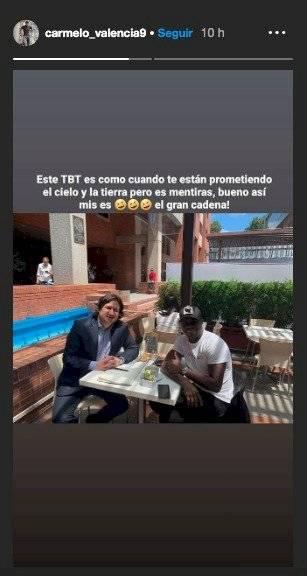 Carmelo Valencia contra José Augusto Cadena