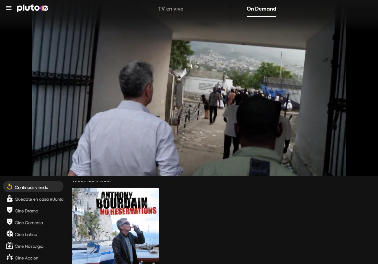 México Pluto TV Cuarentena
