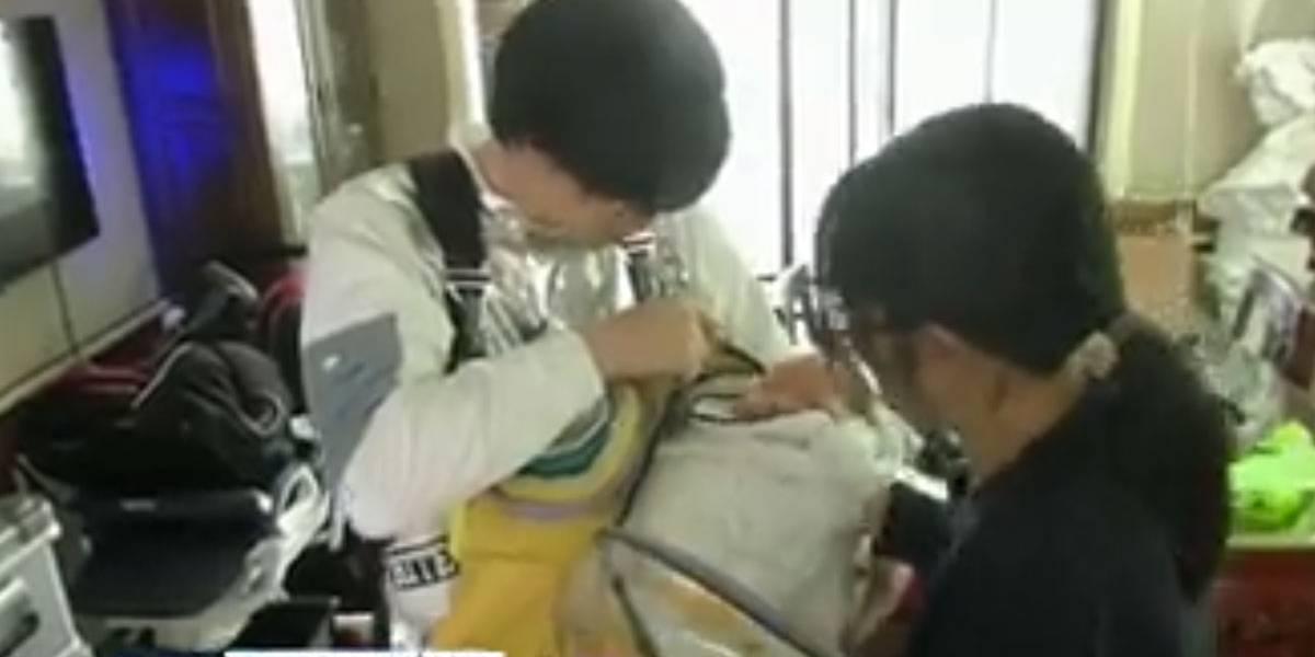 Pai cria cápsula para proteger bebê de coronavírus na China
