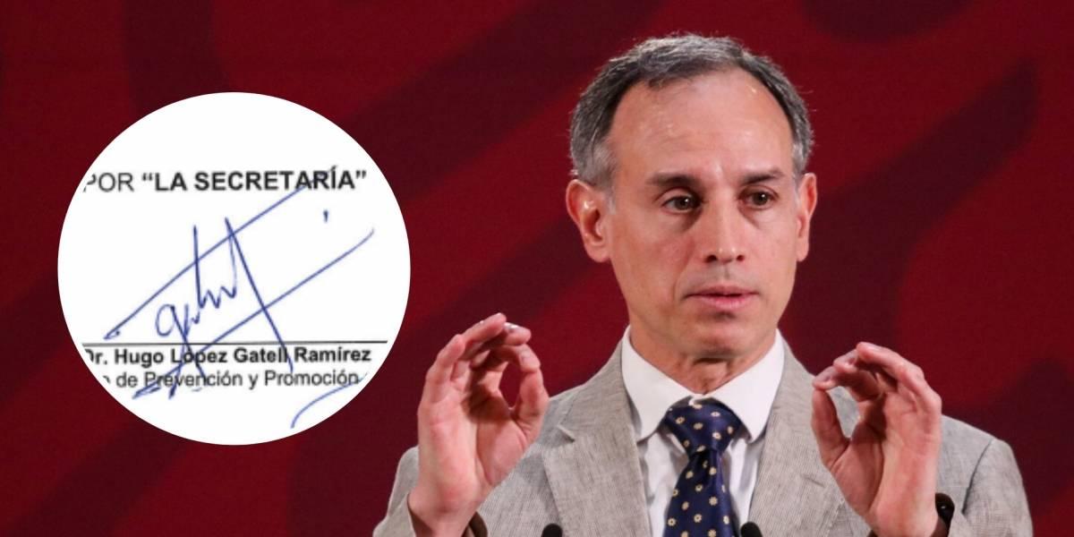 Esto dice la firma de Hugo López-Gatell sobre su personalidad
