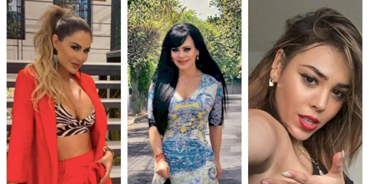 Maribel Guardia, Ninel Conde, Danna Paola pasan cuarentena en bikini