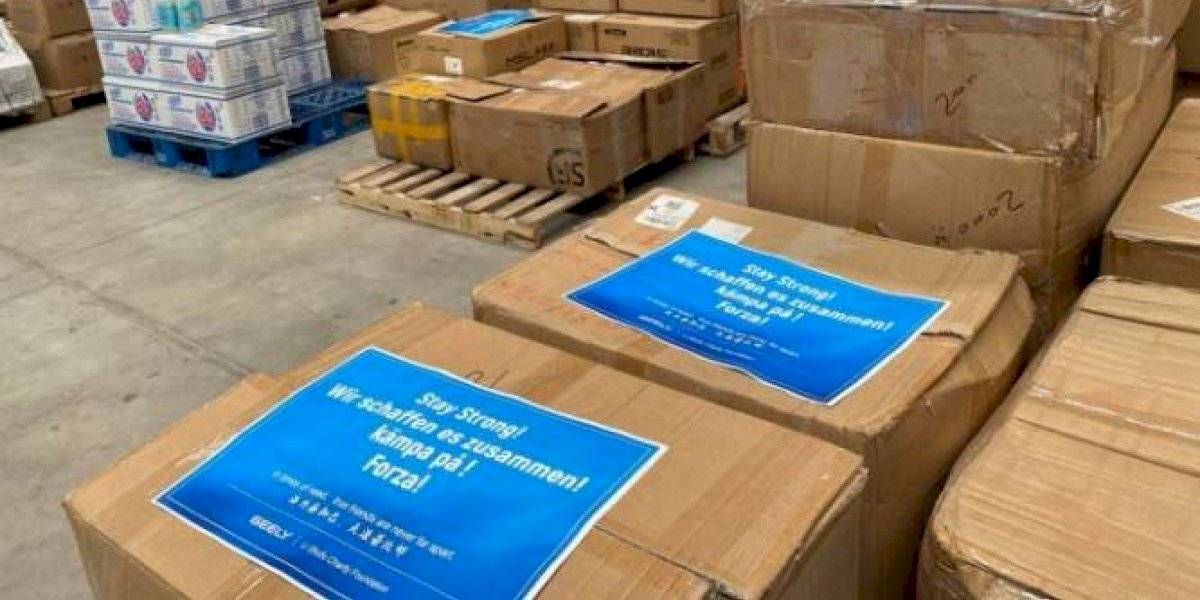 El holding Geely inicia donación de materiales médicos por coronavirus