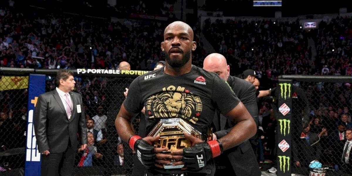 Detienen a Jon Jones, estrella de UFC, por manejar en estado de ebriedad