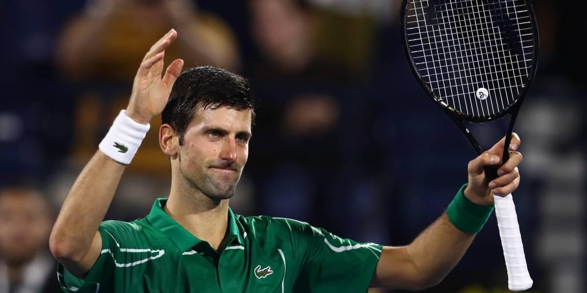 """""""Es la decisión correcta"""": Novak Djokovic tras suspensión de los JJ.OO"""