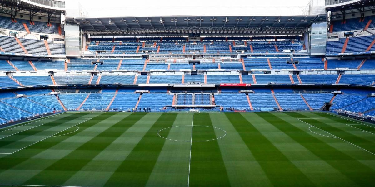 Estadio Santiago Bernabéu almacenará material sanitario