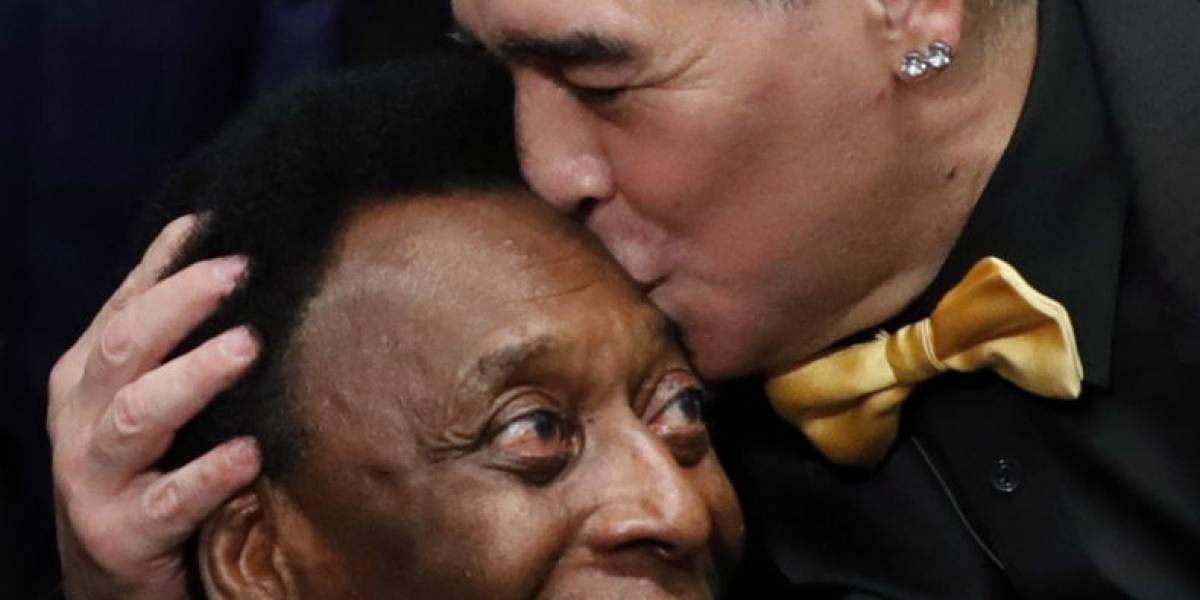 """La """"humildad"""" de Pelé ninguneando a Maradona y Messi: """"Tengo tres Mundiales, quizá haya algún príncipe, pero rey hay uno solo"""""""