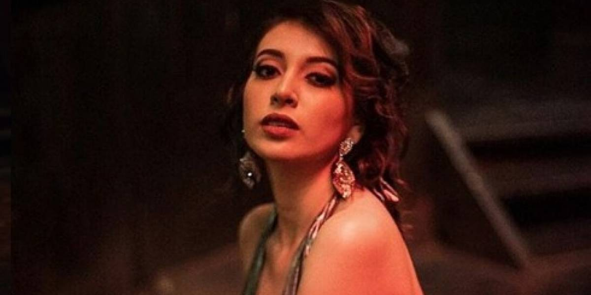 Mariana García, Miss Guatemala 2018 sorprende a la PNC con comida ante la crisis del coronavirus