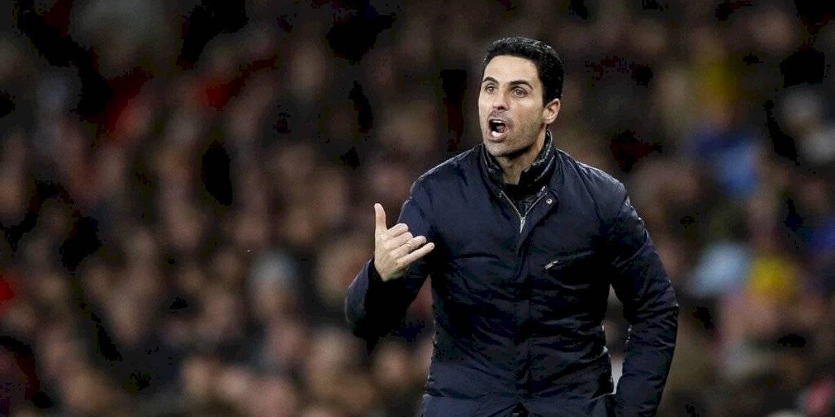 Entrenador del Arsenal se recupera de coronavirus