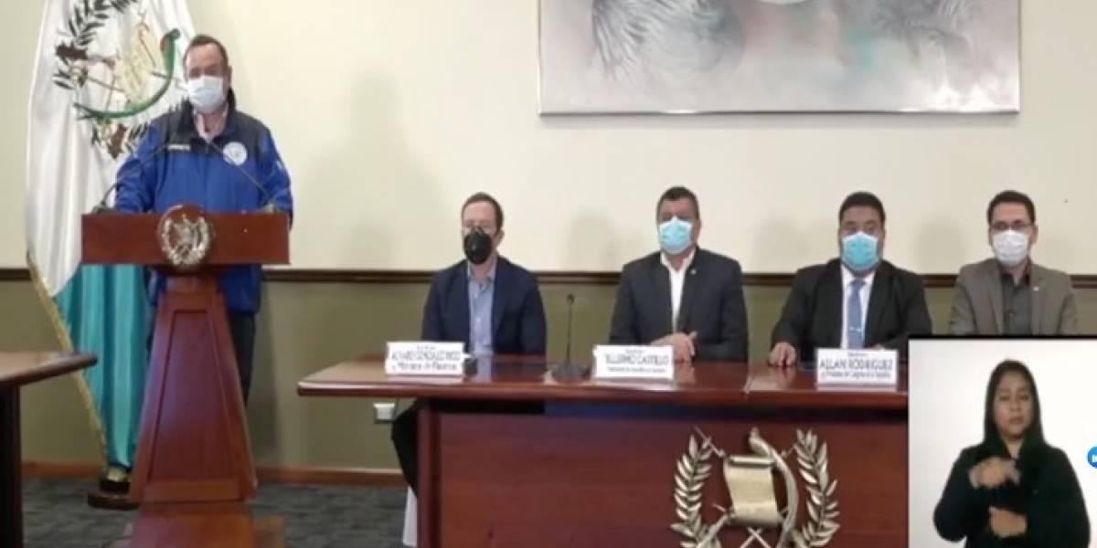 Giammattei confirma asistencia alimenticia para 200 mil familias por coronavirus en Guatemala