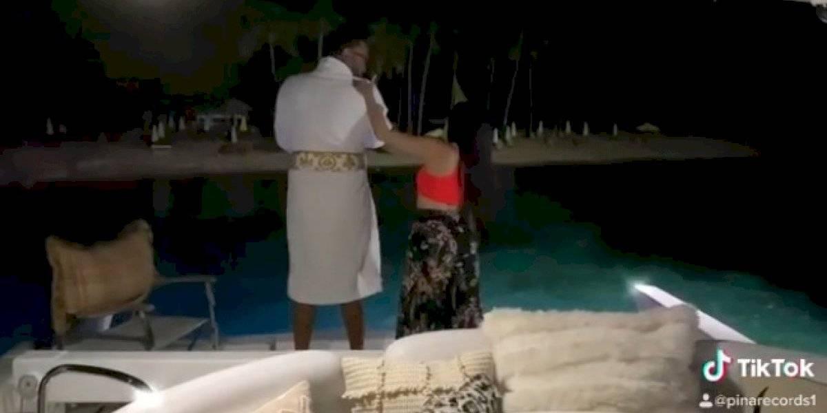 Con este video Raphy Pina reconfirma su relación con Natti Natasha