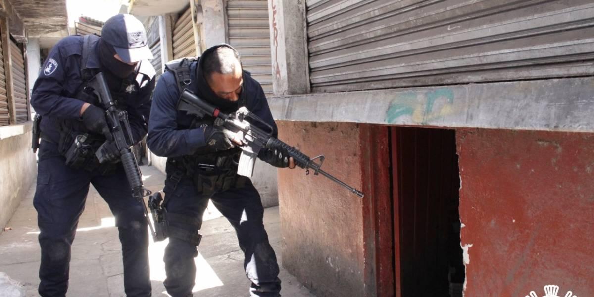 SSP detiene a un hombre y decomisan presunta droga en el Mercado Morelos