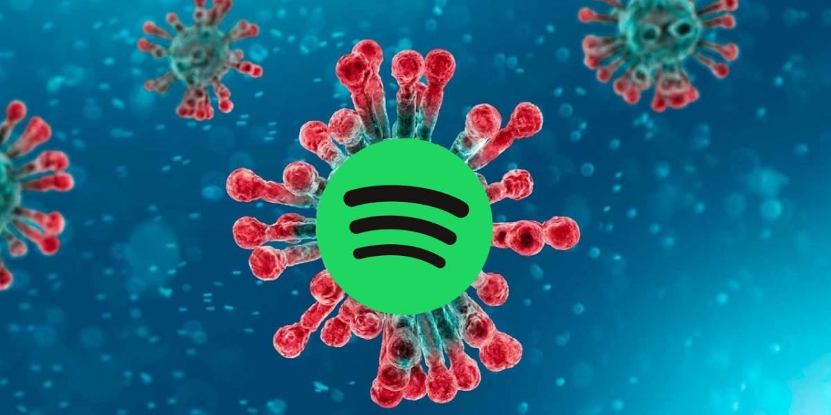 Coronavirus: alguien hizo una lista de reproducción sobre el virus en Spotify