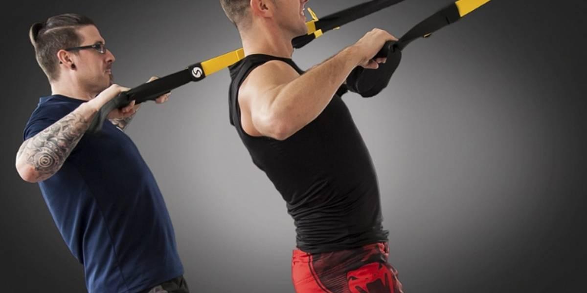 Realiza estos 3 ejercicios con TRX en casa para estar en forma