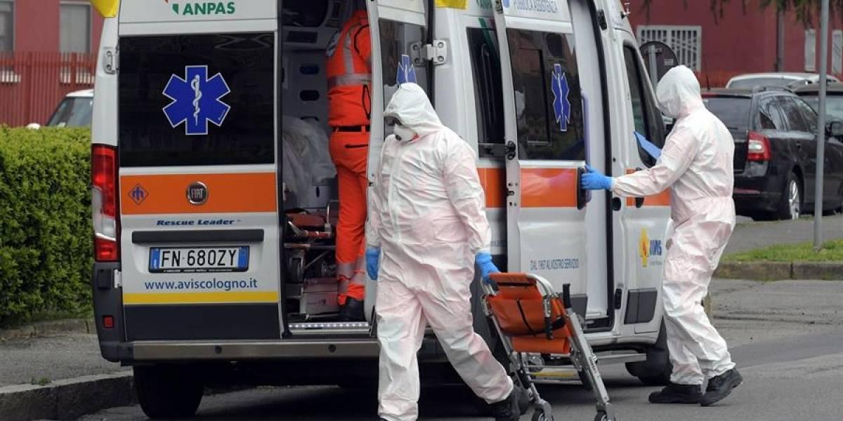 Italia registra 542 fallecidos por coronavirus en las últimas 24 horas
