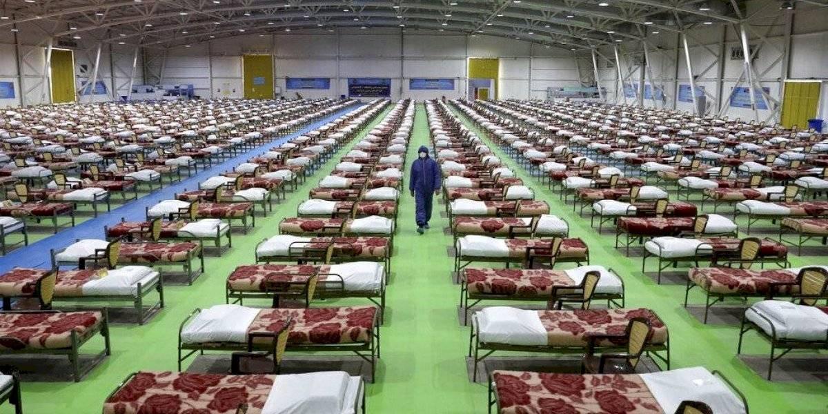10 mil trabajadores de la salud en Irán se contagian de coronavirus
