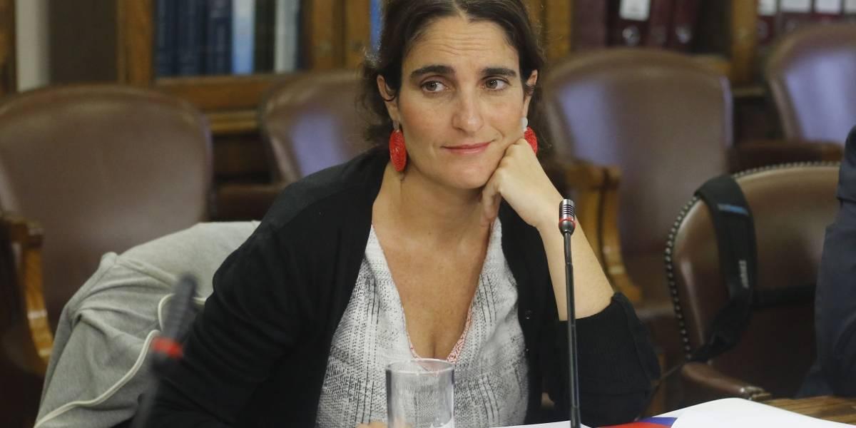 Ministra del Trabajo María José Zaldívar defendió el dictamen de la Dirección del Trabajo