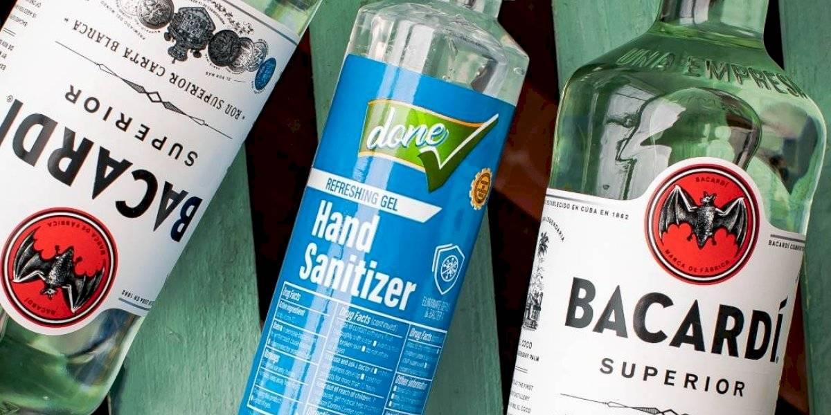 No más Bacardí...por ahora: empresa dejará de producir ron para fabricar alcohol gel