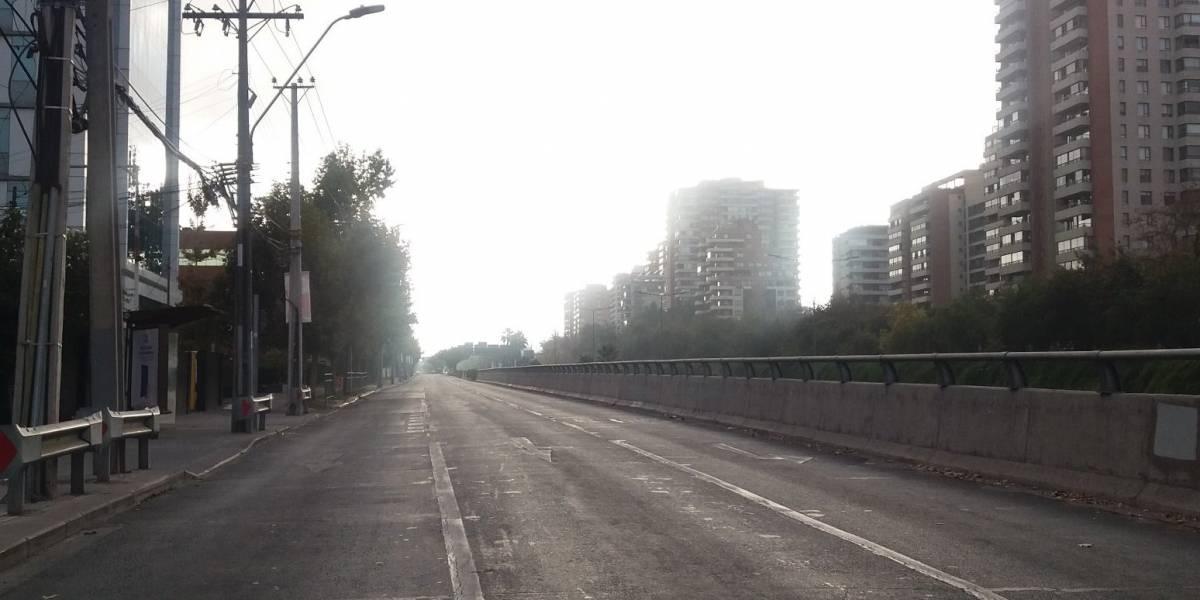 """""""Primer día de cuarentena en Santiago, estamos en Silent Hill"""": densa niebla matinal sorprende a tuiteros"""