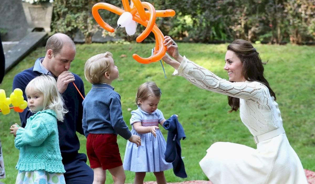 Kate y William tienen tres pequeños hijos