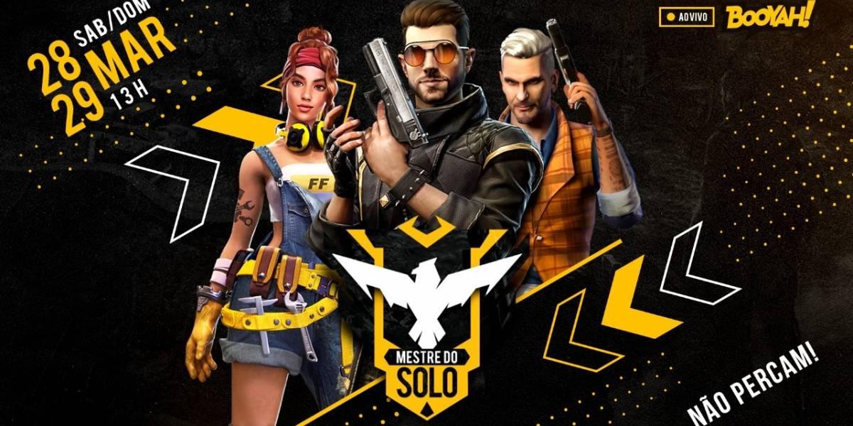 Battle royale: competição 'Mestre do Solo' do Free Fire acontece neste fim de semana