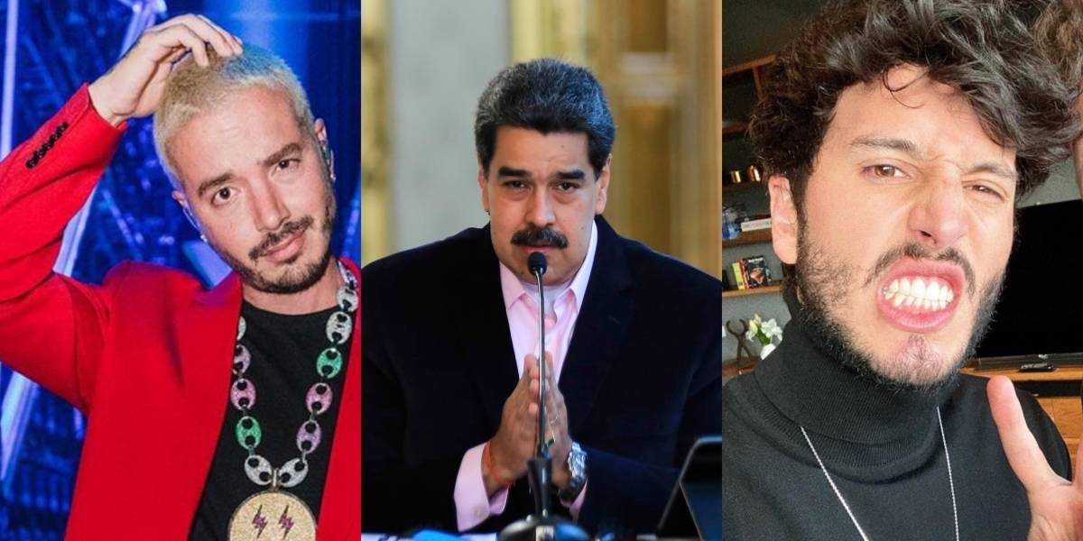 J Balvin y Sebastián Yatra hablan sobre recompensa por Nicolás Maduro