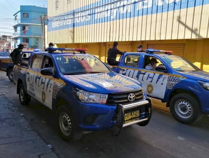 Policías PNC