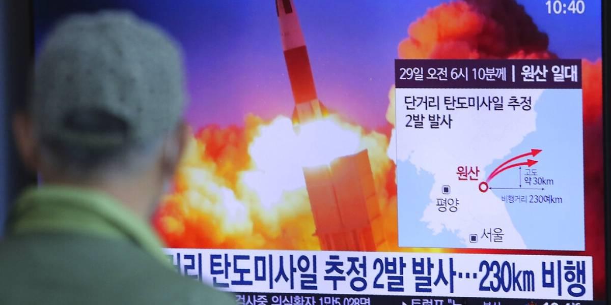 """Entre temores por coronavirus: Corea del Norte lanza un """"proyectil no identificado"""" hacia el mar del Japón"""