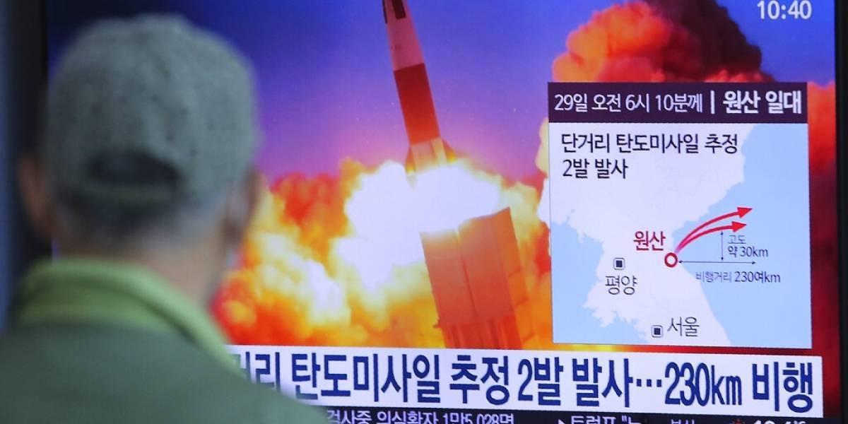 """Corea del Norte lanza un """"proyectil no identificado"""" hacia el mar de Japón"""