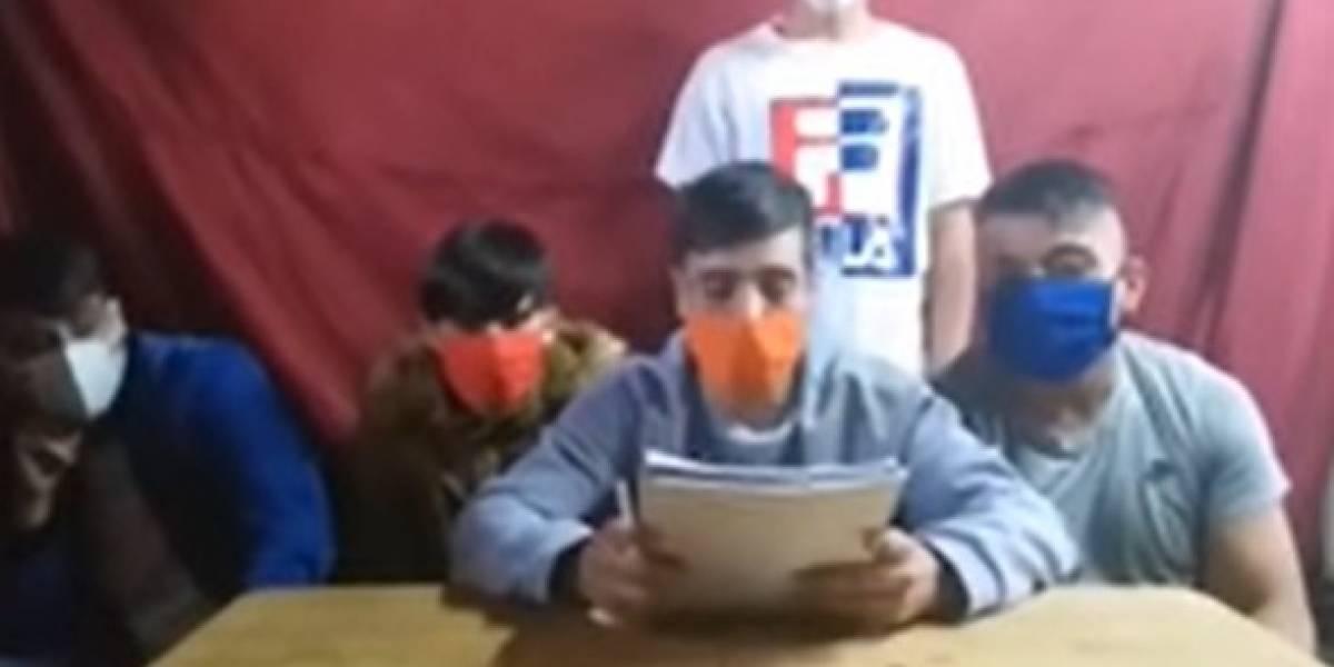 """Video previo a incidentes en cárcel de Puente Alto cita a Bachelet y denuncia casos positivos de covid -19: """"Esto es un llamado al ministro de Salud y al señor Presidente"""""""