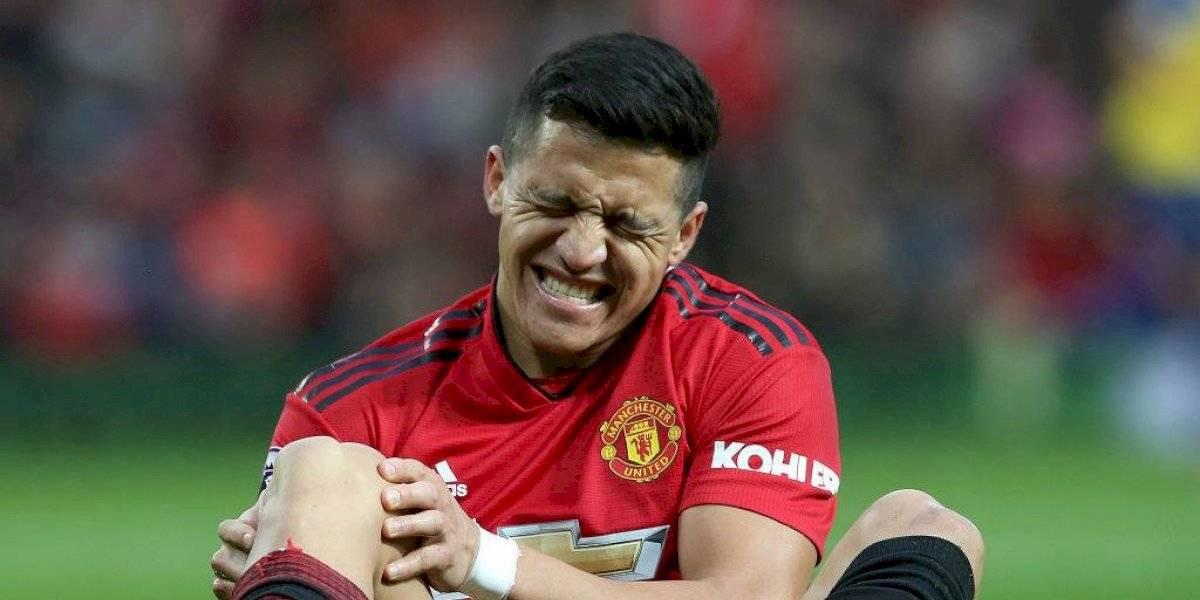 """¿Otra vez? Alexis Sánchez es incluido en el """"once de fracasos"""" del Manchester United"""