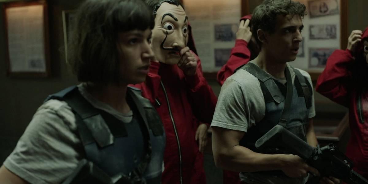 Netflix adelanta el estreno de la nueva temporada de La casa de papel