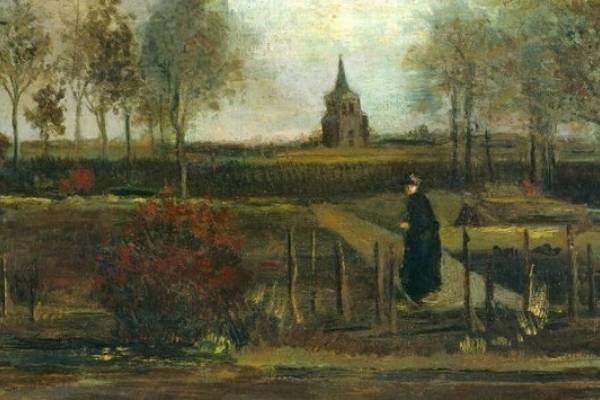 """O quadro """"Spring Garden"""" de Vincent Van Gogh"""