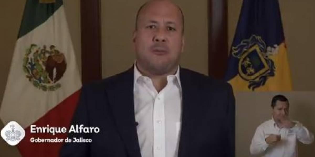 Gobernador de Jalisco teme 'traición a la patria' de López Gatell