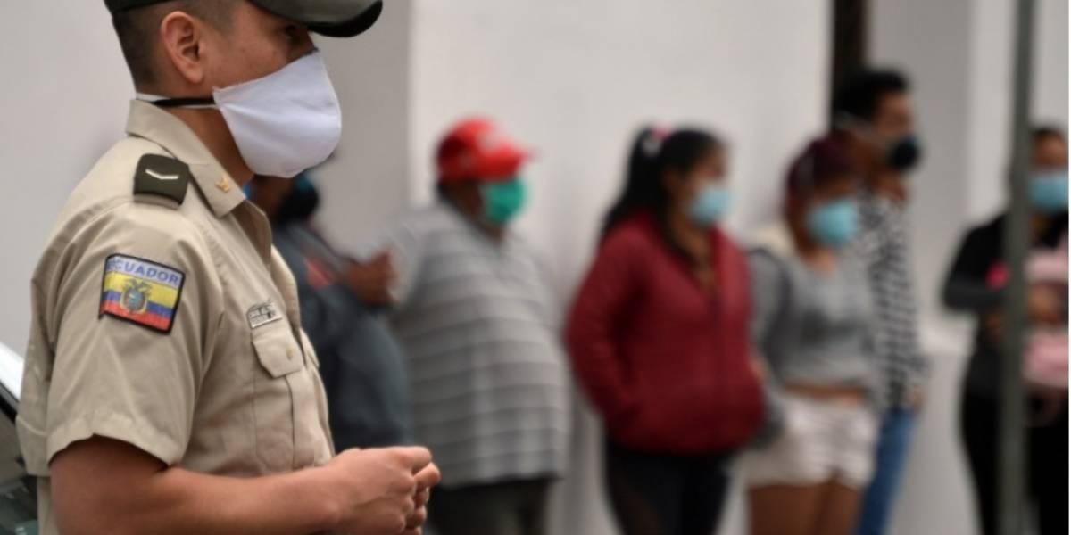 Coronavirus en Ecuador: sube la cifra a 2.302 casos positivos