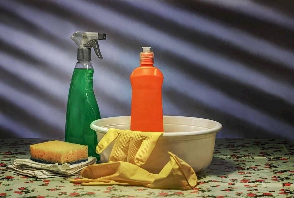Errores de limpieza en el hogar