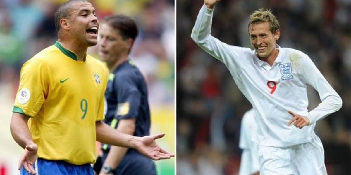 La divertidísima anécdota de Peter Crouch y Ronaldo Nazario