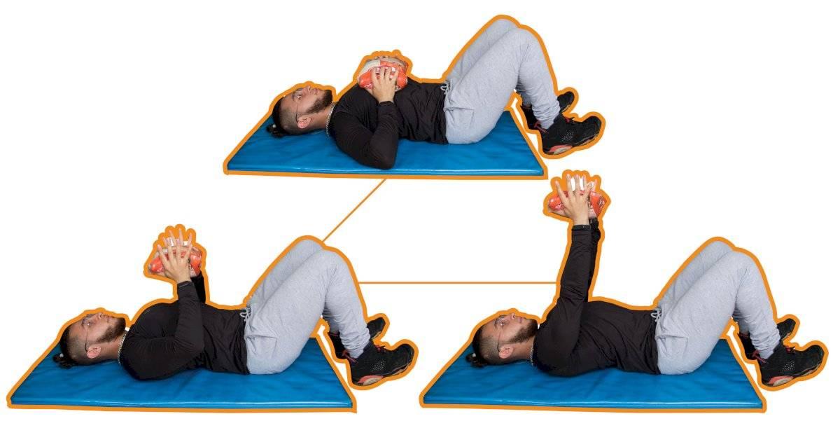 Exercícios quarentena - Supino reto