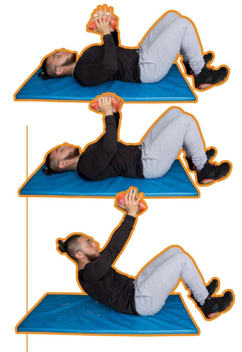 Exercícios quarentena - Crunch curto