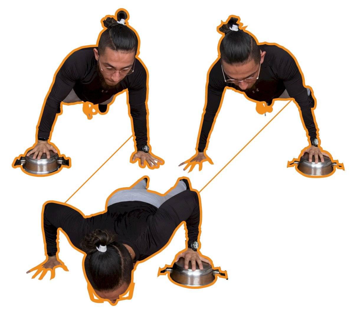 Exercícios quarentena - Flexão de cotovelo
