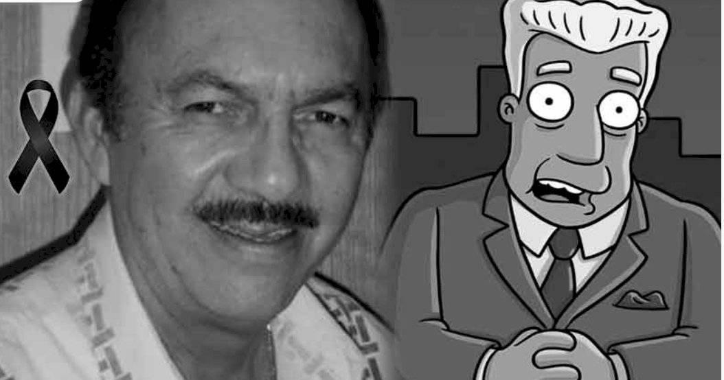 Los Simpson: Murió Gonzalo Curiel, la voz latina de Kent Brockman