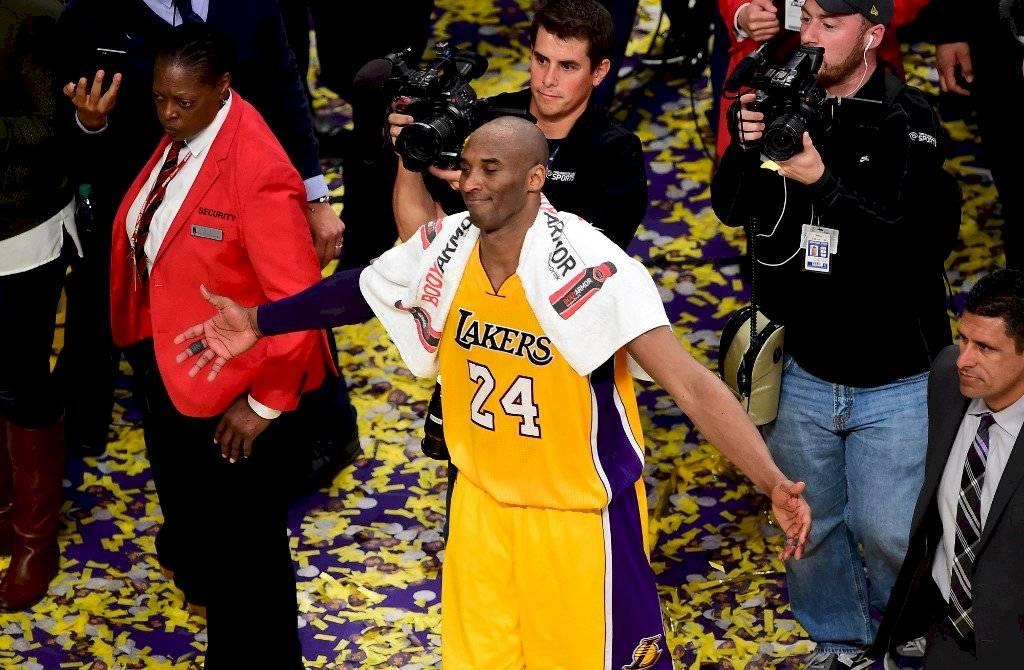 Kobe Bryant en la final de 2016