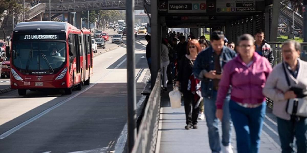 Suspenden la operación en varias estaciones de TransMilenio por manifestaciones