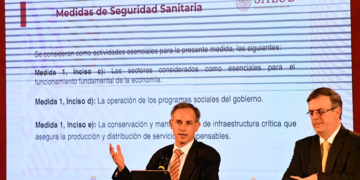 Declara México emergencia sanitaria